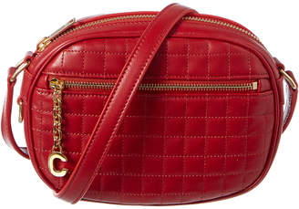 Celine Small C Charm Quilted Leather Camera Bag