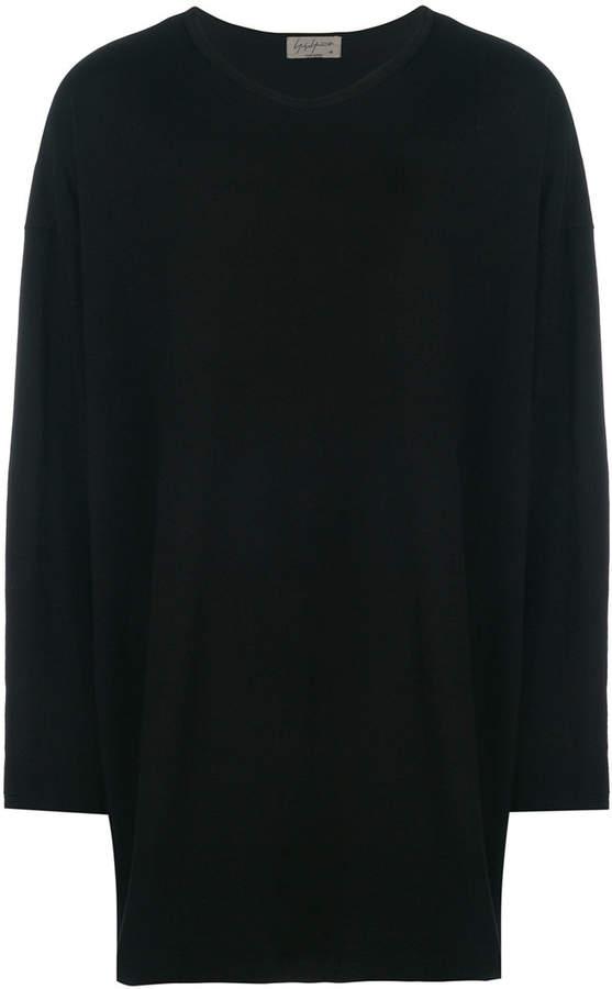 Yohji Yamamoto back-print long sleeve T-shirt