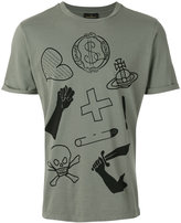 Vivienne Westwood illustration print T-shirt - men - Cotton - M