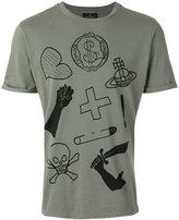 Vivienne Westwood illustration print T-shirt - men - Cotton - XS