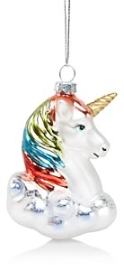 Bloomingdale's Glass Unicorn Head Ornament - 100% Exclusive