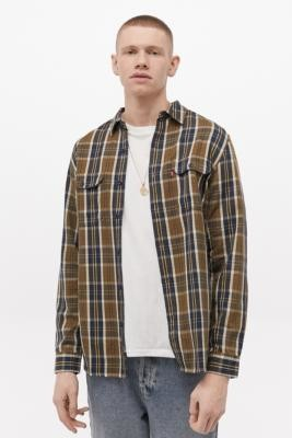 Levi's Jackson Brown Checked Shirt - Brown S at Urban Outfitters