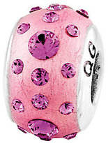 Swarovski Prerogatives Sterling Pink Molded Crystal Bead