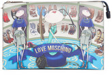 Love Moschino Graphic Print Evening Bag