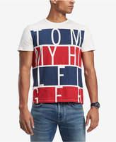 Tommy Hilfiger Men's Deerfield Stripe Logo-Print T-Shirt, Created for Macy's
