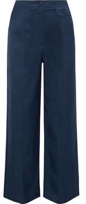 Iris & Ink Stella Pique Wide-leg Pants
