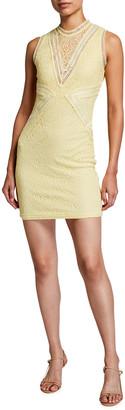 Bardot Aubrey Lace Mini Dress