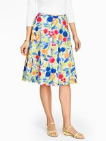 Talbots Fruits & Blooms Skirt