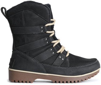 Sorel Meadow Leather-trimmed Suede Snow Boots