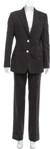 Dolce & Gabbana Wool Pinstripe Pantsuit