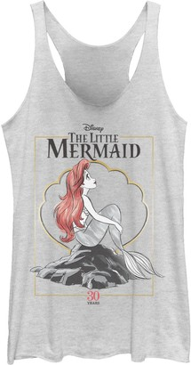 Licensed Character Juniors' Disney's The Little Mermaid 30th Anniversary Tank Top