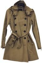 BCBGMAXAZRIA Beige Trench Coat for Women