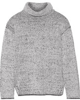 Theory Tessalee Wool And Cashmere-Blend Turtleneck Sweater
