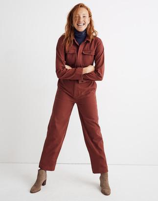 Madewell Straight-Leg Coverall Jumpsuit