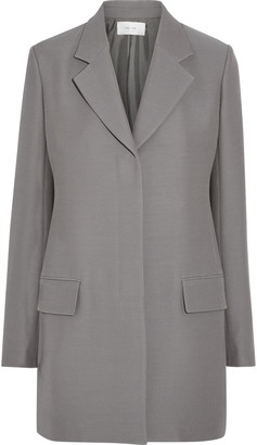 The Row Cennor Wool And Silk-blend Cady Jacket