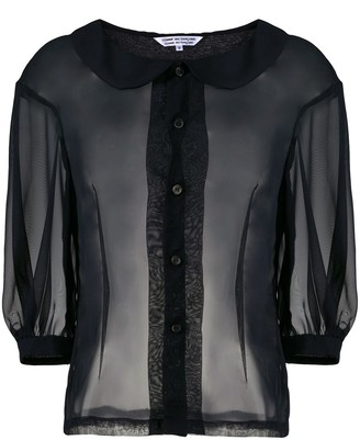 Comme des Garcons Sheer Tulle Shirt