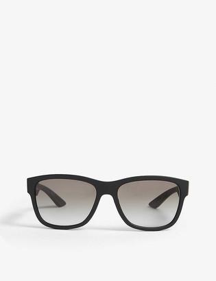 Prada Linea Rossa PS03Q square-frame sunglasses