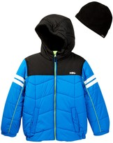 Hawke & Co Hooded Bubble Jacket (Toddler Boys)
