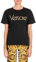 Versace Logo Jersey Tee