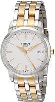 Tissot Men's T0334102201101 Classic Dream Analog Display Quartz Two Tone Watch