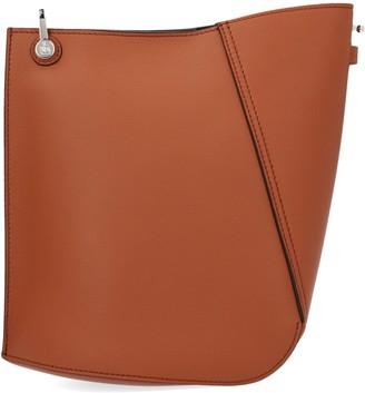 Lanvin Asymmetrical Bucket Tote Bag