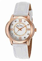 Lucien Piccard Women's LP-40001-RG-02S-WHT Dalida Analog Display Quartz White Watch