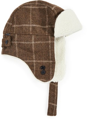 Paul Smith Check Trapper Hat