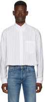 Balenciaga White Url Shirt