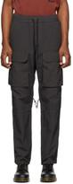 Reese Cooper Grey Nylon Cargo Pants