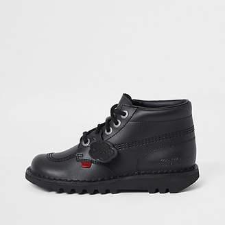 Kickers black Hi Classic boots