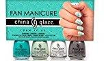 China Glaze Fan Manicure – Turn It Up