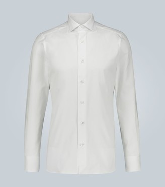 Ermenegildo Zegna Milano long-sleeved cotton shirt
