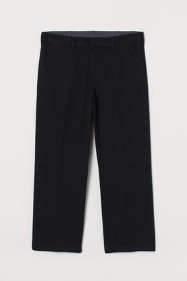 H&M Ankle-length cotton chinos