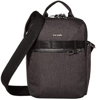 Pacsafe Metrosafe X Vertical Anti-Theft Crossbody Bag (Carbon) Handbags