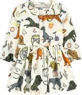 Stella McCartney Mini Me printed shirt dress and matching knickers