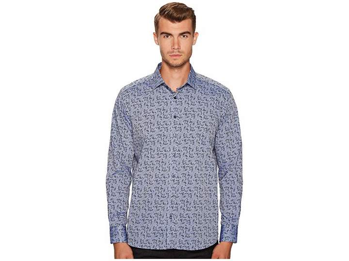 Etro Paisley Button Down Shirt Men's Long Sleeve Button Up