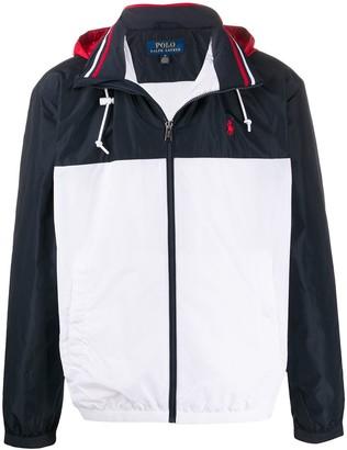 Polo Ralph Lauren Panelled Logo Jacket