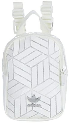 adidas 3D Mini Backpack (White) Backpack Bags
