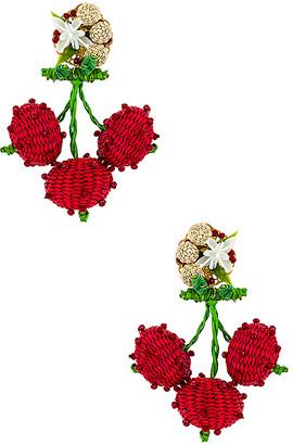 Mercedes Salazar Cherry Dangle Earring
