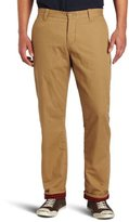 Dockers Flannel Lined Ultimate Khaki D2 Flat Front Pant