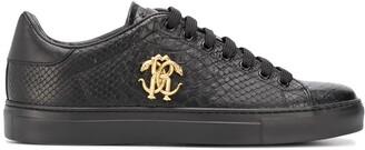 Roberto Cavalli Logo Plaque Low-Top Sneakers