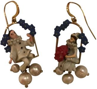 Les Nereides White Pearls Earrings