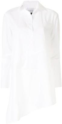 Edward Achour Paris Asymmetric Shirt Dress