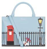 Harrods Westie Leather Tote Bag