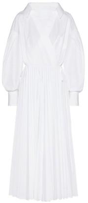 Valentino Pleated Maxi Dress