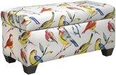 Skyline Storage Bench, Birdwatcher Summer - Birdwatcher Summer - Bench