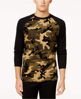 Polo Ralph Lauren Men's Camo Waffle-Knit Thermal Shirt