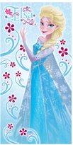 Disney Frozen Elsa Floral Canvas Wall Art