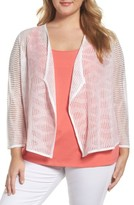 Nic+Zoe Plus Size Women's In The Clouds Cardigan