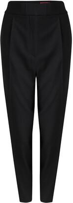 HUGO BOSS Hugo By Black Waist Tie Detail Herini Trousers M